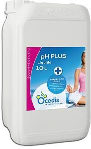 pH plus liquide piscine - Correcteur pH plus<br>OCEDIS ® Bidon de 10L