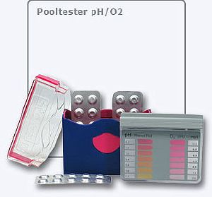 Lovibond ® Pool Tester H2O2 / PHMB / pH