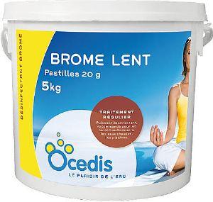 Brome lent pour piscine d sinfection et traitement de l for Brome piscine