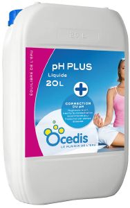 pH plus liquide piscine - Correcteur pH plus<br>OCEDIS ® Bidon de 20L