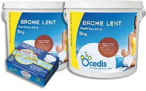 Brome lent pour piscine d sinfection et traitement de l for Infection urinaire et piscine