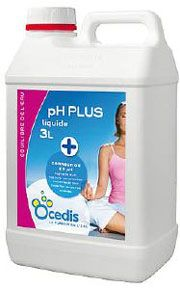 pH plus liquide piscine - Correcteur pH plus<br>OCEDIS ® Bidon de 3L