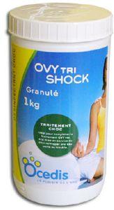 Traitement choc compl mentaire ovytri ram ne une eau for Piscine verte traitement choc