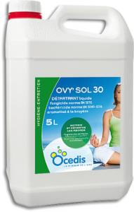 Désinfectant sanitaire pool house - Ovy'Sol 30<br>OCEDIS ® bidon 5L
