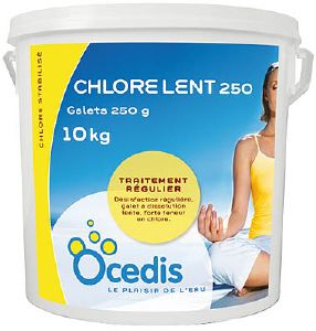Chlore lent pour piscine for Chlore pour piscine