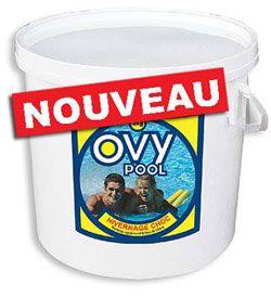 Hivernage piscine traitement choc sans chlore seau 3kg for Oxygene actif piscine verte