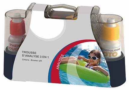 Trousse d'analyse Chlore / pH Piscine & SPA